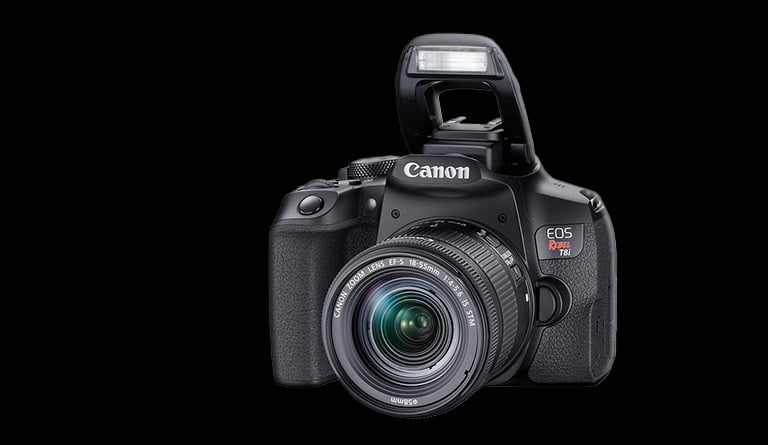 Características importantes em uma análise da Canon T8i