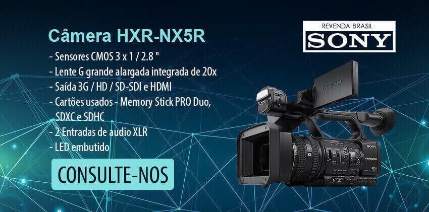 Camêra-HXR-NX5R